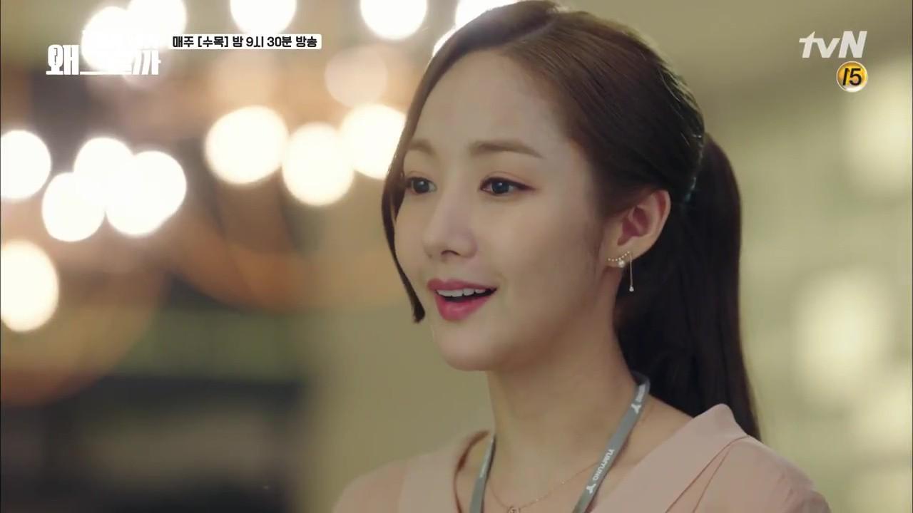 Thư Ký Kim tập 10 bỗng thiếu muối, fan chưng hửng nhìn Park Min Young lăn đùng ra ngất - Ảnh 12.
