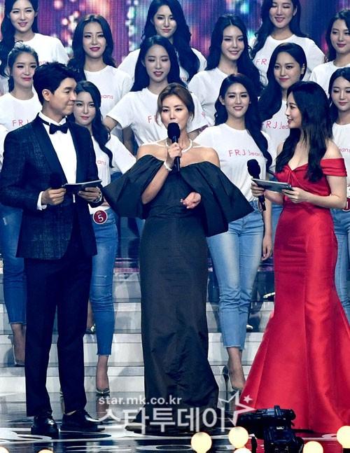 Dở khóc dở cười tại Hoa hậu Hàn Quốc 2018: Mẹ Kim Tan và mỹ nhân Kpop quá đẹp, chiếm hết spotlight của Tân Hoa hậu - Ảnh 4.