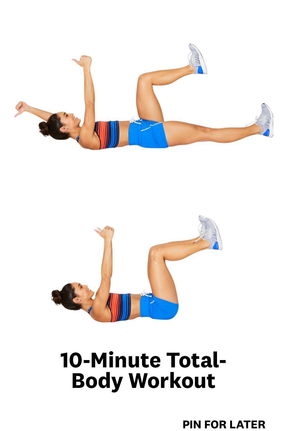 Thon gọn toàn thân chỉ bằng 10 phút mỗi ngày với các bài tập này - Ảnh 1.