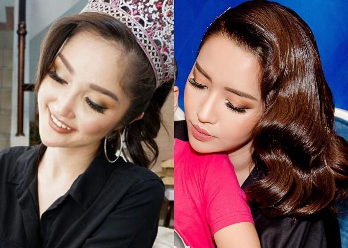 Nhan sắc và phong cách thời trang của Hoa hậu Hoàn vũ Indonesia 2018 được coi là chị em sinh đôi của Bích Phương - Ảnh 2.