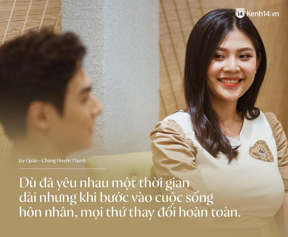 Phủ nhận tin đồn cưới chạy bầu, Jay Quân - Chúng Huyền Thanh tiết lộ cuộc sống làm bố mẹ: Từng không dám động vào vì sợ con đau - Ảnh 2.