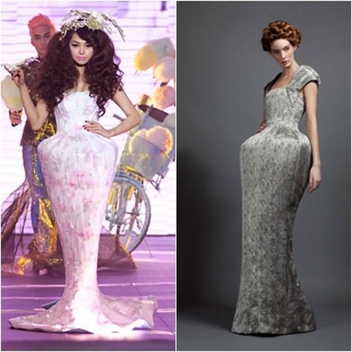 Giống váy của LaBourjoisie tới 90%, liệu váy của Lý Quí Khánh có còn đơn thuần là lấy lý tưởng? - Ảnh 5.
