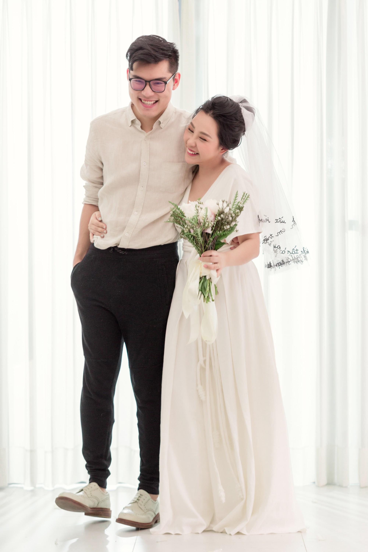 Gào khoe bộ ảnh cưới siêu hạnh phúc cùng chồng và 3 em bé - Ảnh 14.
