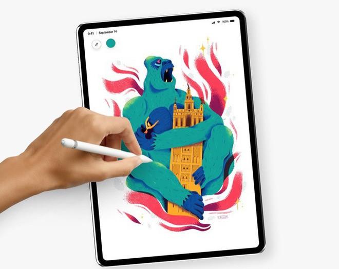 Concept: Đây là vẻ đẹp của iPad Pro với Face ID sắp ra mắt - Ảnh 3.