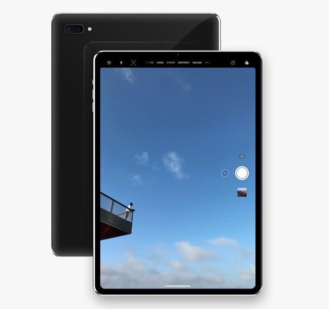 Concept: Đây là vẻ đẹp của iPad Pro với Face ID sắp ra mắt - Ảnh 4.