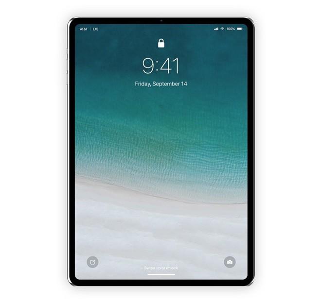 Concept: Đây là vẻ đẹp của iPad Pro với Face ID sắp ra mắt - Ảnh 2.