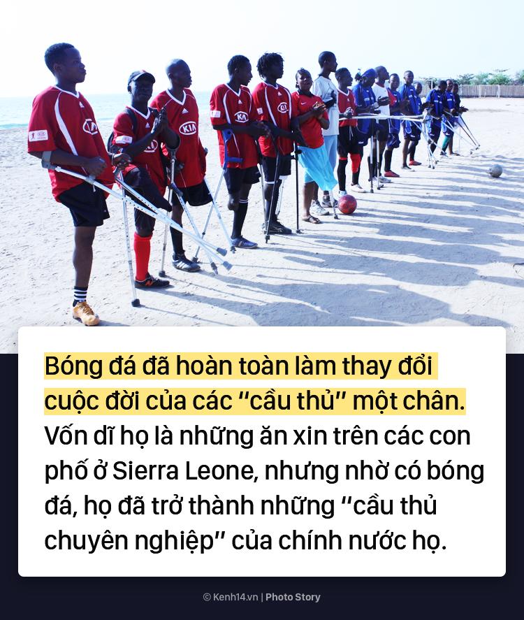 Đội bóng 1 chân tại Châu Phi chứng minh sức mạnh kinh khủng của bóng đá - Ảnh 11.