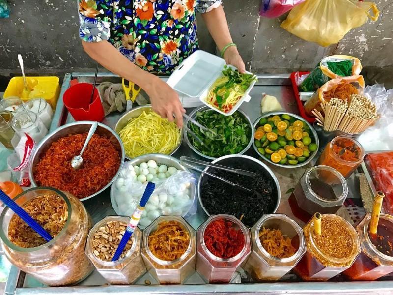 Xế chiều Sài Gòn mát trời, còn gì bằng nhâm nhi những món gỏi ăn vặt ngon tê tái như này - Ảnh 6.