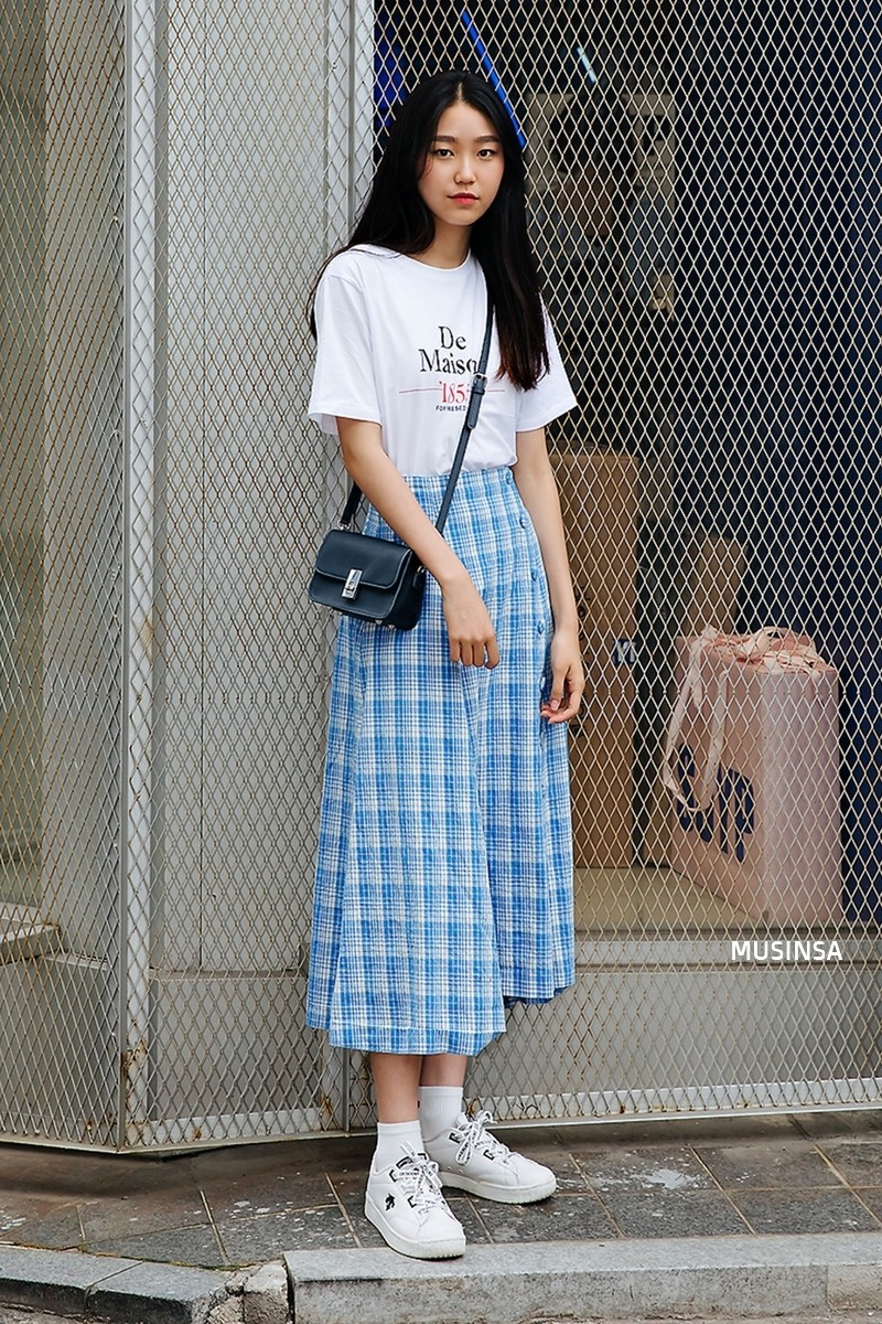 Không thời trang phang thời tiết, giới trẻ Hàn diện toàn đồ mát rười rượi mà vẫn đẹp không lối thoát - Ảnh 10.
