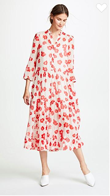 Bộ váy hoa giá cả chục triệu mà đụng hàng xuyên lục địa hết Pháp đến Ý rồi lại Tây Ban Nha - Ảnh 1.