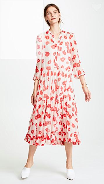 Bộ váy hoa giá cả chục triệu mà đụng hàng xuyên lục địa hết Pháp đến Ý rồi lại Tây Ban Nha - Ảnh 2.