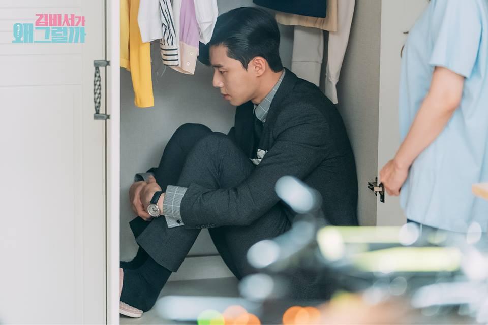 Thư Ký Kim: Phản ứng trái ngược của cặp đôi Park - Park và ekip sau cảnh hôn tủ quần áo - Ảnh 28.