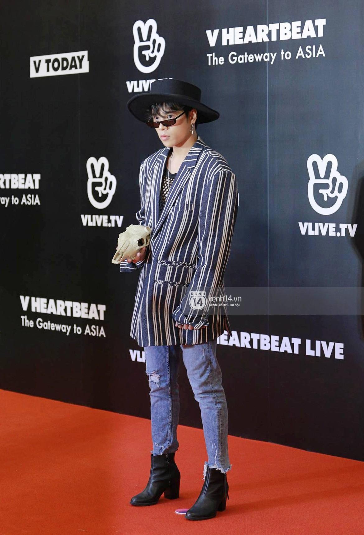 Thảm đỏ đêm nhạc Hàn-Việt: Jung Hae In, WINNER đẹp trai cực phẩm, Chi Pu và Hòa Minzy đọ sắc cùng loạt sao Việt - Ảnh 20.