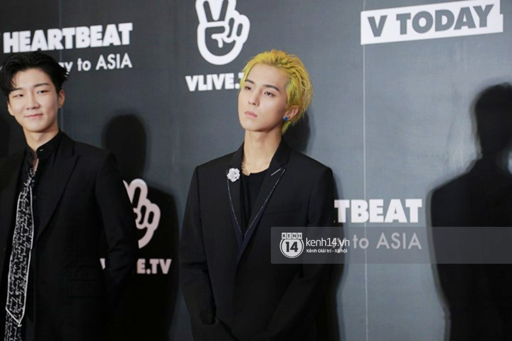 Thảm đỏ đêm nhạc Hàn-Việt: Jung Hae In, WINNER đẹp trai cực phẩm, Chi Pu và Hòa Minzy đọ sắc cùng loạt sao Việt - Ảnh 7.