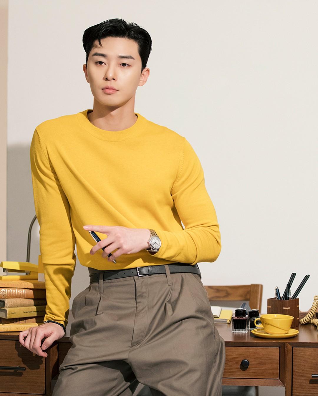 Park Seo Joon - nam thần không chỉ điển trai mà còn mặc đẹp từ phim đến đời thực - Ảnh 22.