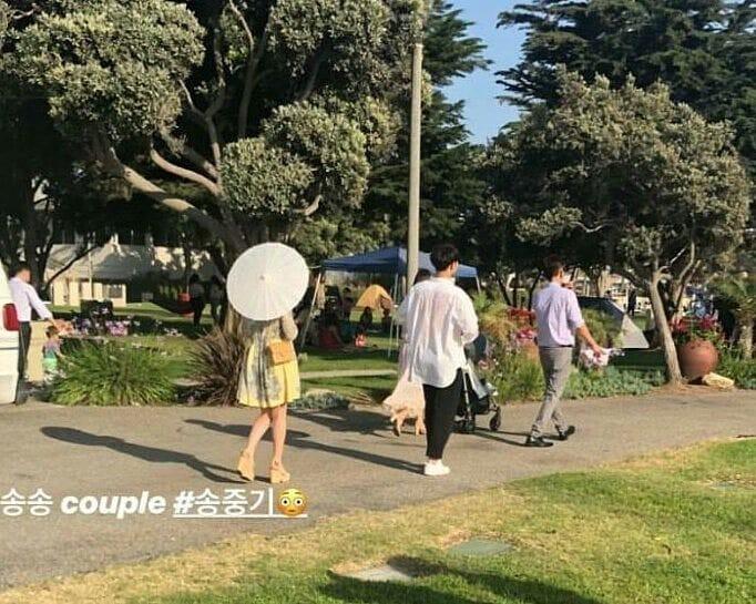 Lâu lắm mới lộ diện, vợ chồng Song Song gây sốt vì cùng ăn diện, tình tứ bên nhau trong đám cưới bạn tại Mỹ - Ảnh 1.