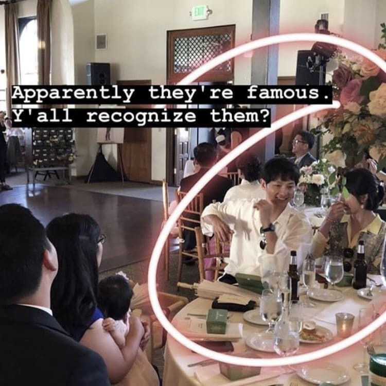 Lâu lắm mới lộ diện, vợ chồng Song Song gây sốt vì cùng ăn diện, tình tứ bên nhau trong đám cưới bạn tại Mỹ - Ảnh 2.
