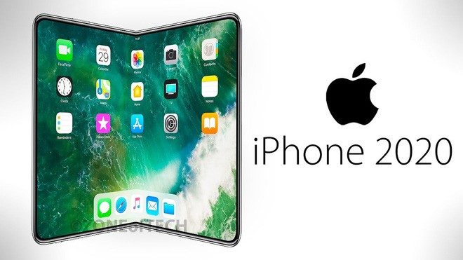 iPhone màn hình gập sẽ ra mắt vào năm 2020 hoặc muộn hơn - Ảnh 1.