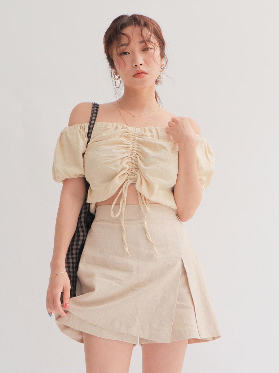 Chỉ với chi tiết dây buộc đơn giản mà có ít nhất 4 kiểu áo trendy, diện lên siêu xinh và tôn dáng - Ảnh 8.