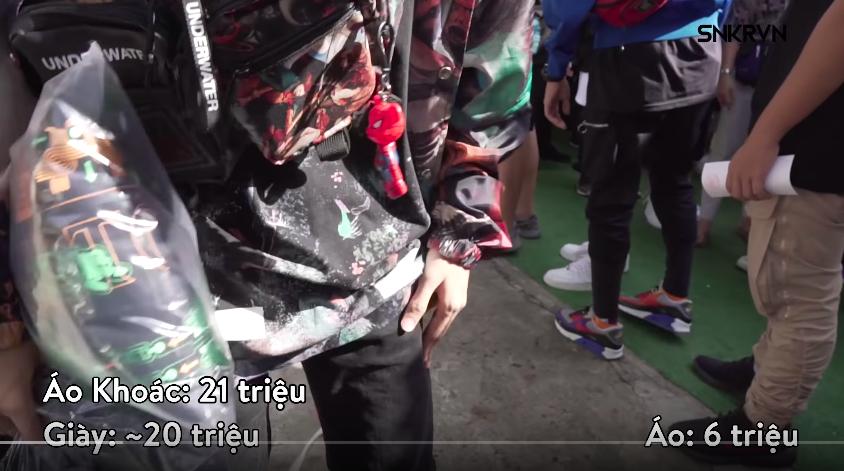 Sneaker Fest 2018: Rich Kid Việt bóc set đồ trăm triệu - Ảnh 4.