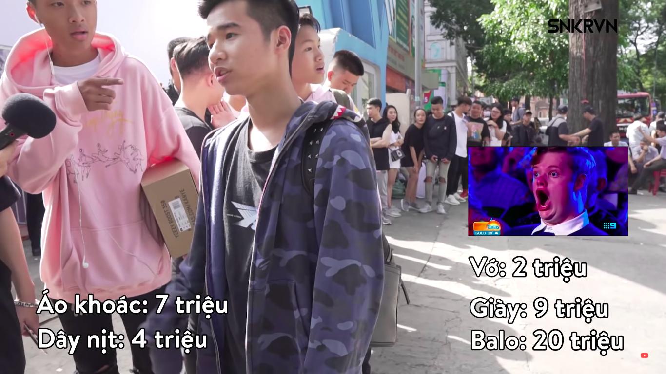 Sneaker Fest 2018: Rich Kid Việt bóc set đồ trăm triệu - Ảnh 9.