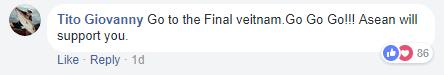 Dù còn gần ngày mới tới bán kết, người hâm mộ khắp châu Á đã gửi lời động viên tới đội tuyển U23 Việt Nam - Ảnh 3.