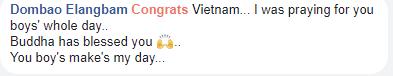 Việt Nam làm nên lịch sử khi đánh bại U23 Qatar, bạn bè Quốc tế đồng loạt gửi lời cổ vũ và chúc mừng - Ảnh 9.