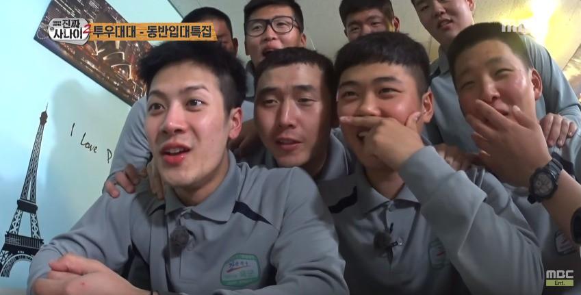Không chỉ sao nữ, dàn Idol nam Hàn Quốc cũng lộ mặt mộc nhợt nhạt, lấm tấm mụn khi đi nhập ngũ - Ảnh 8.