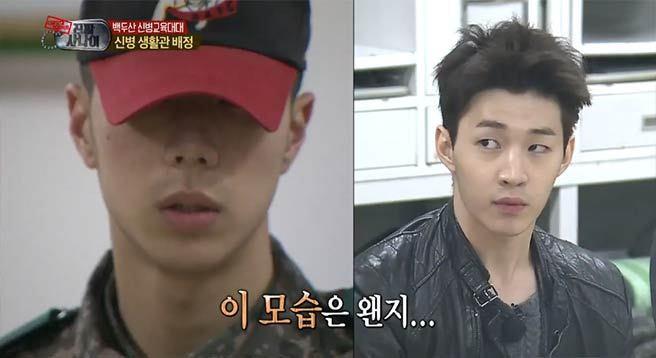 Không chỉ sao nữ, dàn Idol nam Hàn Quốc cũng lộ mặt mộc nhợt nhạt, lấm tấm mụn khi đi nhập ngũ - Ảnh 18.