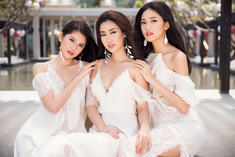 Top 3 Hoa hậu Việt Nam 2016 khoe nhan sắc quyến rũ trước khi hết nhiệm kỳ