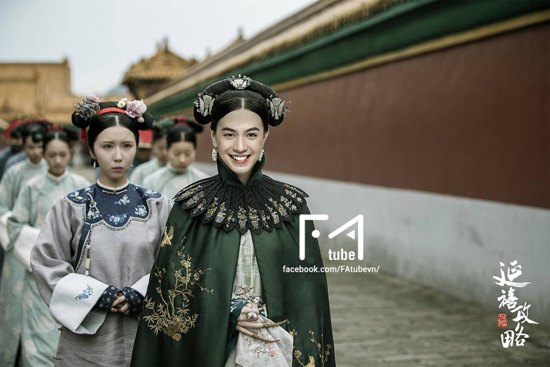 Muốn lịm đi với loạt ảnh Noo Phước Thịnh, Sơn Tùng, Isaac... trở thành mỹ nhân của Diên Hi Công Lược - Ảnh 3.