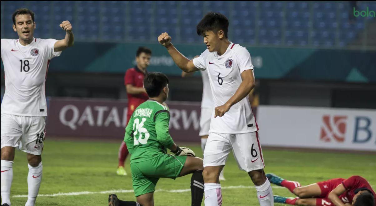 Olympic Lào thua trận mở màn bóng đá nam ASIAD 2018 - Ảnh 2.