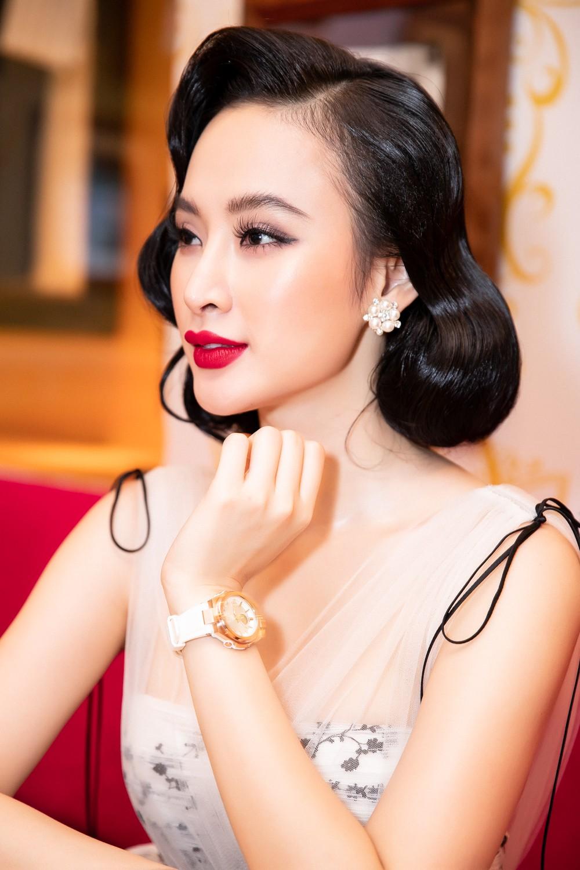Liên tục thay đổi phong cách, Angela Phương Trinh hoá tiểu thư kiêu kì dự sự kiện - Ảnh 3.