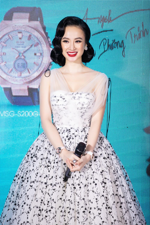 Liên tục thay đổi phong cách, Angela Phương Trinh hoá tiểu thư kiêu kì dự sự kiện - Ảnh 6.