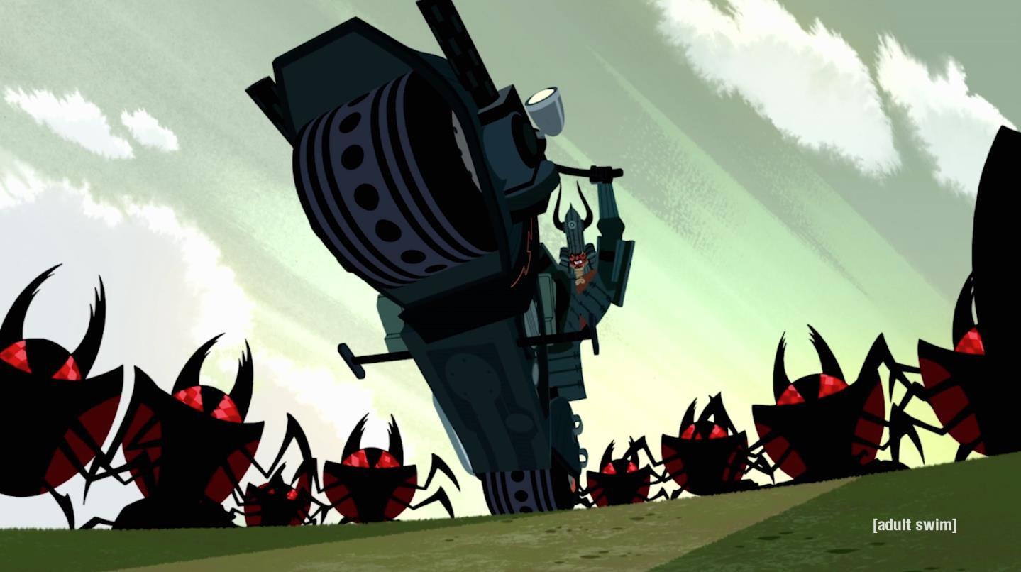Samurai Jack - Kiệt tác hoạt hình vượt thời gian - Ảnh 3.