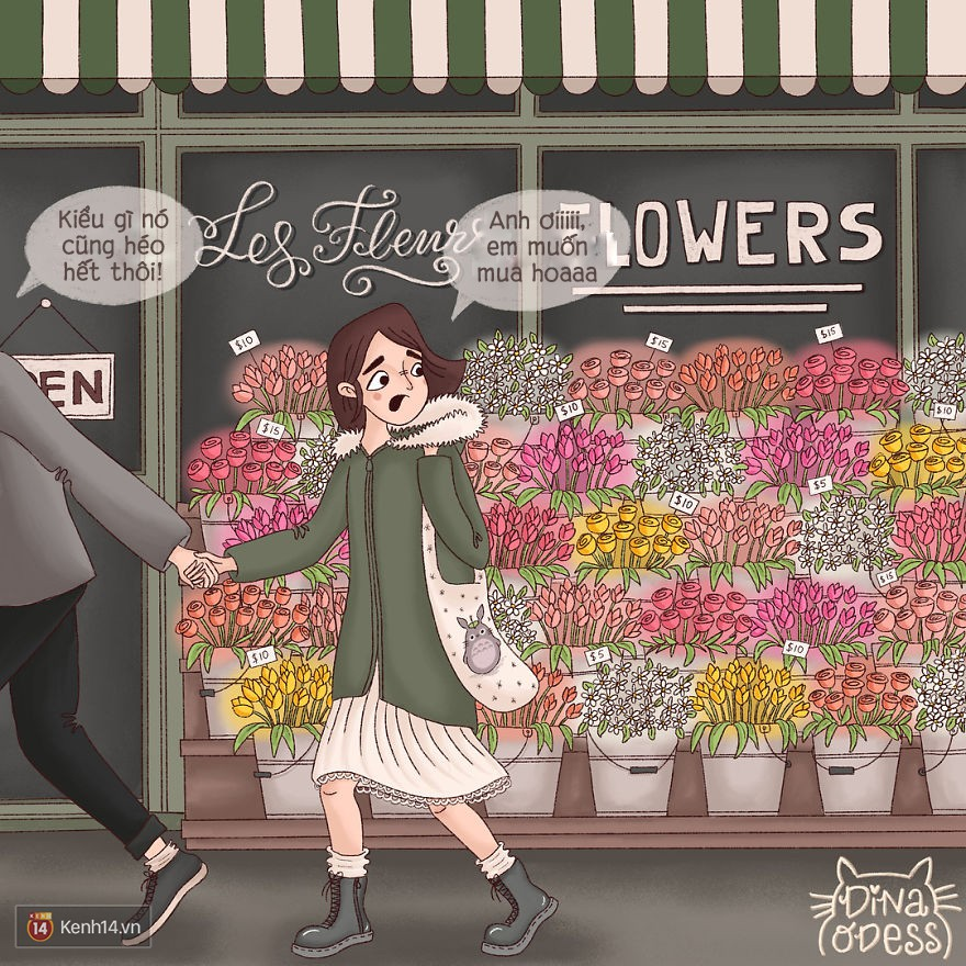 Bộ tranh: Tình yêu hạnh phúc chỉ là tất cả những mảnh ghép bé xíu và giản đơn - Ảnh 11.