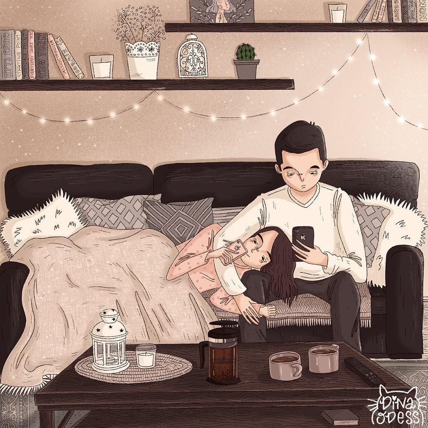 Bộ tranh: Tình yêu hạnh phúc chỉ là tất cả những mảnh ghép bé xíu và giản đơn - Ảnh 15.