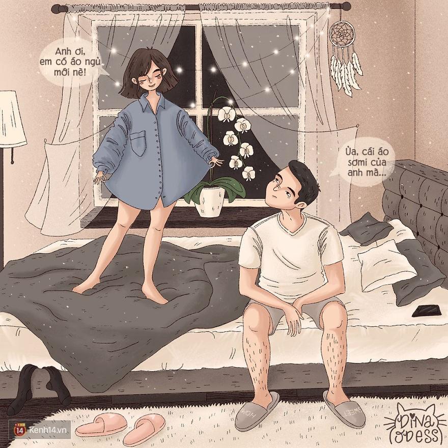Bộ tranh: Tình yêu hạnh phúc chỉ là tất cả những mảnh ghép bé xíu và giản đơn - Ảnh 21.