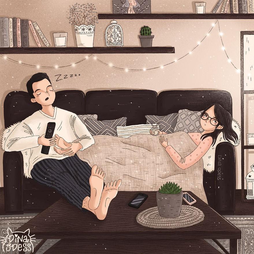 Bộ tranh: Tình yêu hạnh phúc chỉ là tất cả những mảnh ghép bé xíu và giản đơn - Ảnh 23.