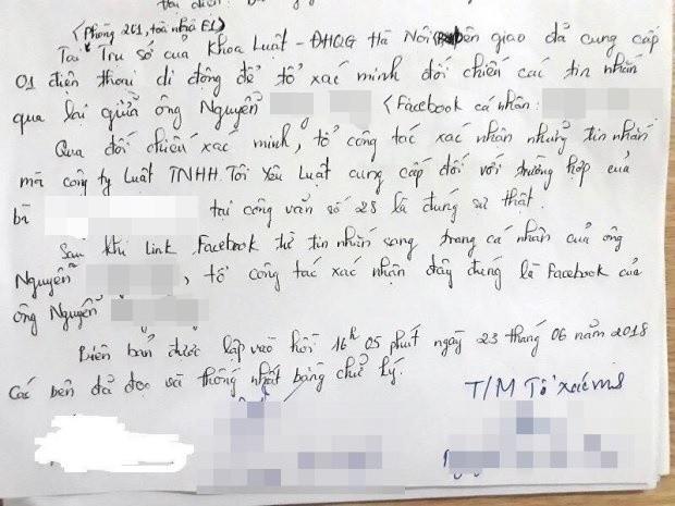 """Nhiều nữ sinh khoa Luật tố giảng viên nhắn tin """"gạ gẫm: Thầy giáo bác bỏ toàn bộ vụ việc, nhà trường vào cuộc xác minh làm rõ - Ảnh 7."""