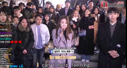Đỉnh cao hát dạo tại Hàn Quốc: cân hết những nốt cao, xử lý bài hát chuyên nghiệp còn hơn cả ca sĩ - Ảnh 2.