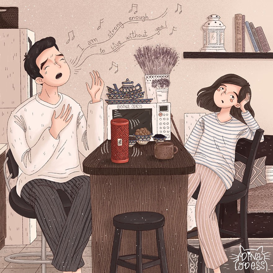 Bộ tranh: Tình yêu hạnh phúc chỉ là tất cả những mảnh ghép bé xíu và giản đơn - Ảnh 29.