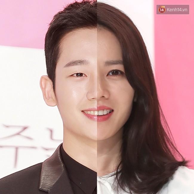 """2. Cũng là một cặp đôi chị - em khác của màn ảnh Hàn, Son Ye Jin và Jung Hae In của """"Chị Đẹp Mua Cơm Ngon Cho Tôi"""" khá giống nhau. Điểm khác biệt lớn nhất có lẽ chính là đôi mắt của họ."""