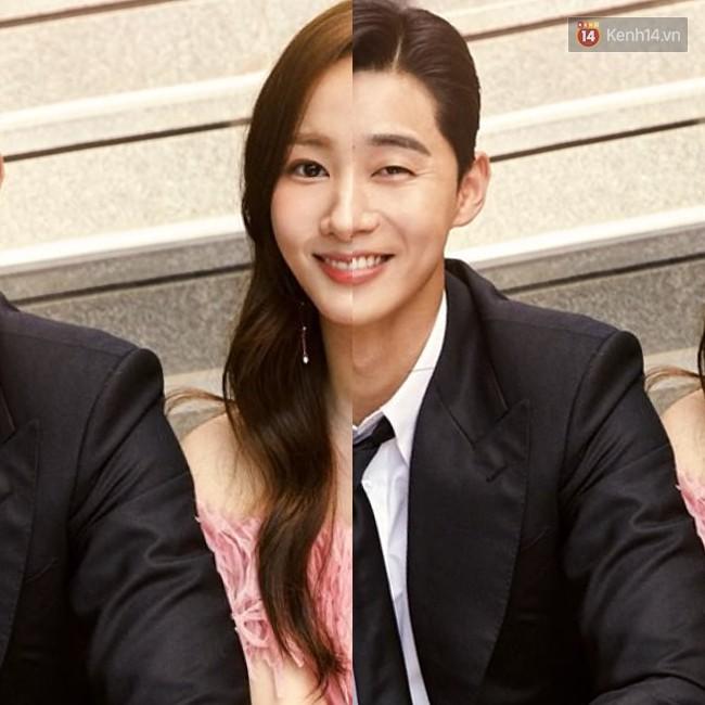"""3. Park - Park couple của """"Thư Ký Kim Sao Thế"""" cũng là cặp đôi được gán ghép nhiệt tình thời gian gần đây. Mặc dù rất giống nhau, cả hai lại khiến công chúng khá tiếc nuối khi mạnh mẽ phủ nhận mọi tin đồn hẹn hò giữa họ."""