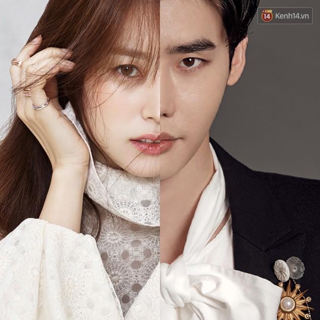 5. Có lẽ ngoại trừ đôi môi và làn da trắng thì các đường nét trên gương mặt của Lee Jong Suk và Han Hyo Joo về cơ bản là... hoàn toàn khác nhau.