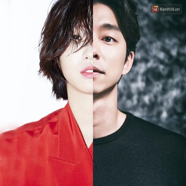 """6. Nếu như Kim Go Eun sở hữu nét đẹp đậm chất Hàn Quốc thì """"Yêu tinh"""" Gong Yoo lại khá Tây. Vượt qua những hoài nghi về chênh lệch ngoại hình và khả năng diễn xuất, cả hai đã cùng góp phần tạo nên thành công rực rỡ của """"Goblin""""."""