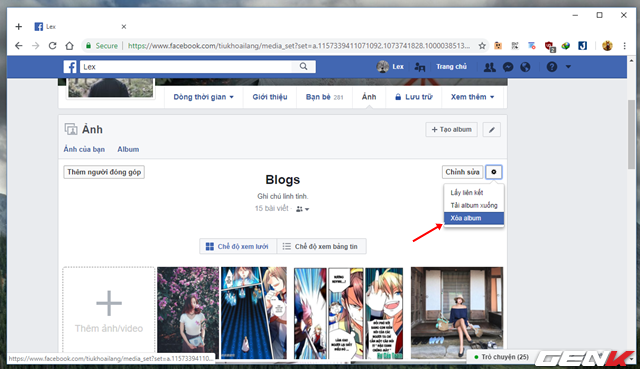 Những cách giúp xóa nhanh và triệt để tất cả hình ảnh và status đã đăng trên Facebook mà không sợ mất tài khoản - Ảnh 8.