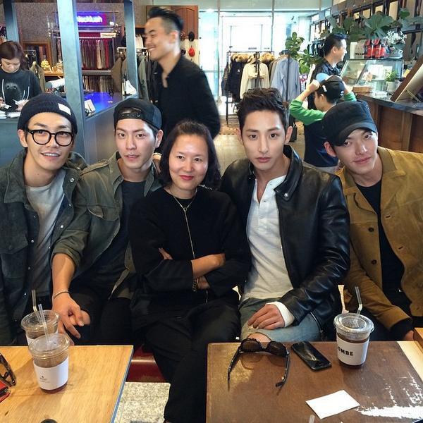 Kim Woo Bin và những hội bạn thân không thể quyền lực hơn: Toàn tài tử hạng A cực phẩm, chân dài tới nách - Ảnh 8.