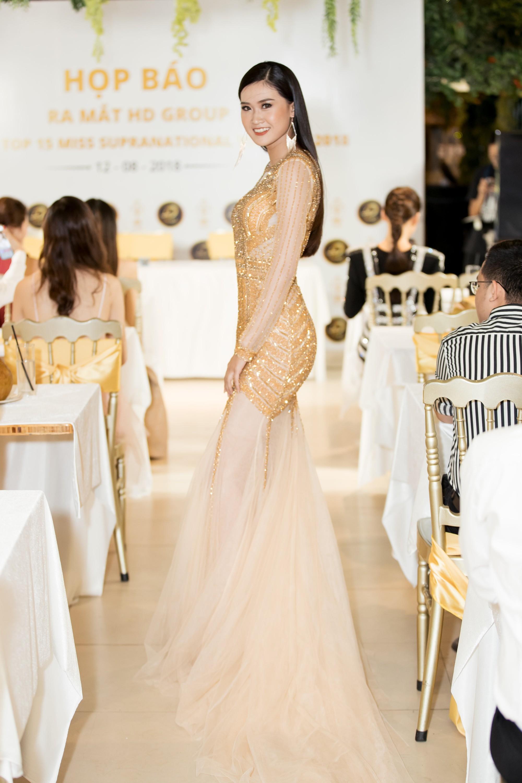 Không ngoài dự đoán, Trương Mỹ Nhân và Ngọc Châu Next Top thẳng tiến vào Top 15 Miss Supranational Vietnam 2018 - Ảnh 12.