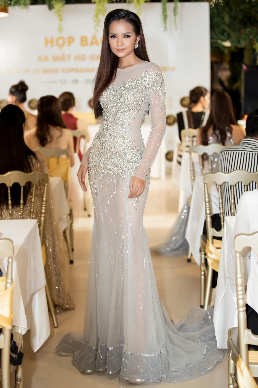 Không ngoài dự đoán, Trương Mỹ Nhân và Ngọc Châu Next Top thẳng tiến vào Top 15 Miss Supranational Vietnam 2018 - Ảnh 3.